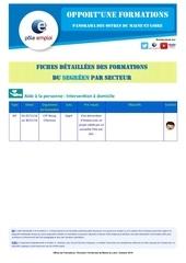 of dt49 segre fiche detaillee secteur sap sante