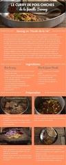 recette 1 le curry de pois chiche de la famille sarang