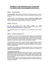 reglement jacadi x laure de sagazan au andy festival
