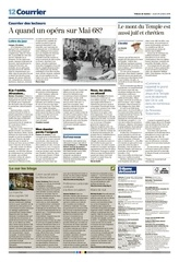 pages 12 13 tribune de geneve 2016 10 20