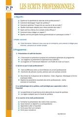 Fichier PDF 02 les ecrits professionnels