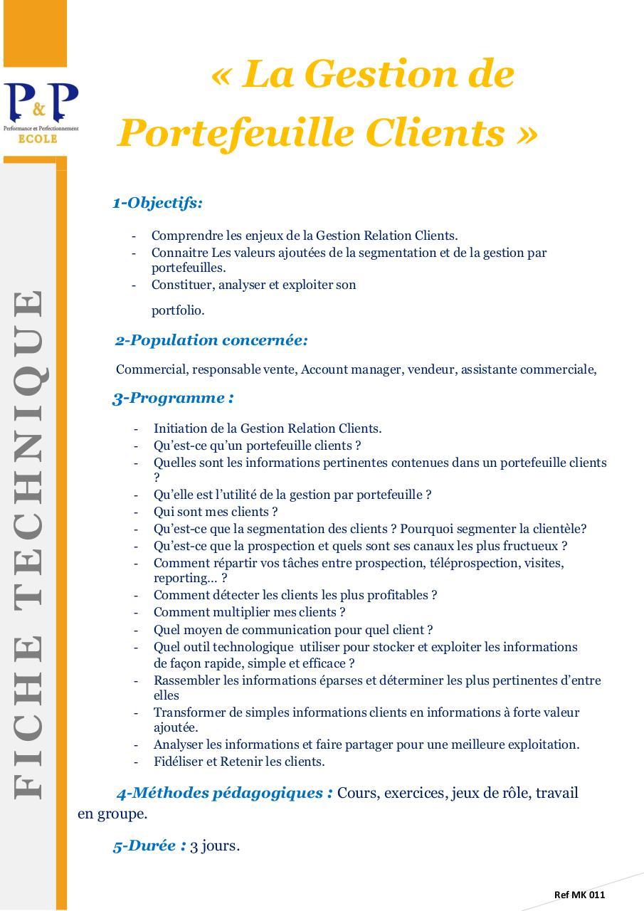 gestion relation client cours pdf