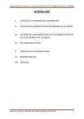 Fichier PDF etat morgues benin rapport