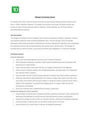 Fichier PDF manager of customer service 1