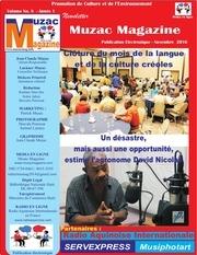 newsletter muzacmagazine novembre 2016