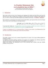 10 05 2014 muhammad dans la bible salik al hanif