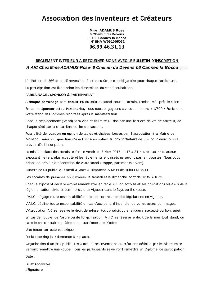 Aperçu du document 2017 -1- Dossier inscription.pdf - page 1/2