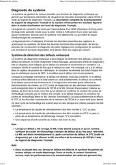 Fichier PDF diagnostic du systeme