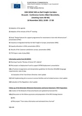 draft agenda 10th meeting serac wg rfcs