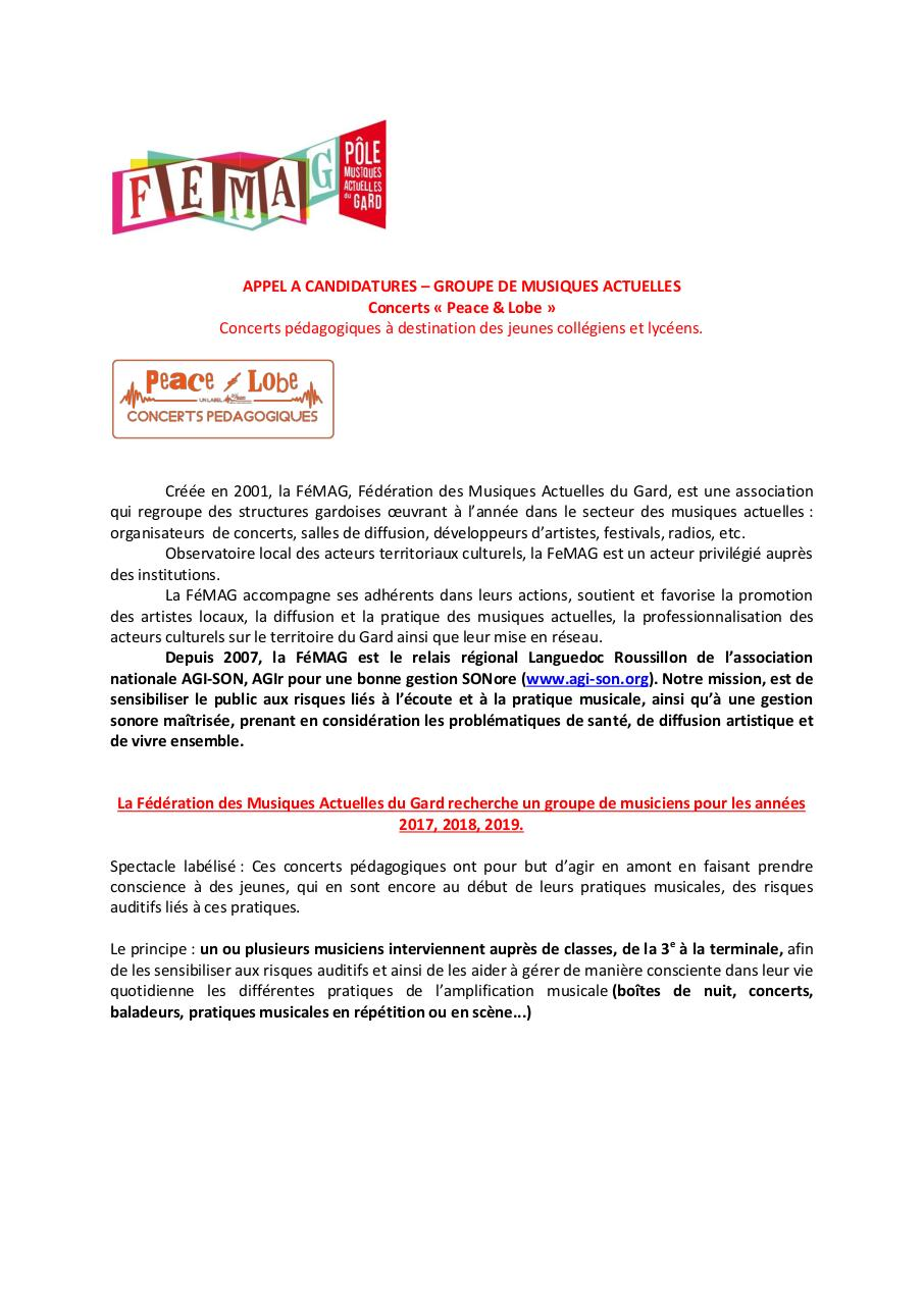 APPEL A CANDIDATURES.pdf - page 1/3