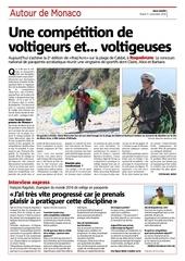 article nice matin du 1er novembre parapente femmes ragolski