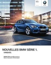 bmw serie 1 juillet 2012