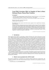 contrib plasma phys 51 615 2011 bennadji
