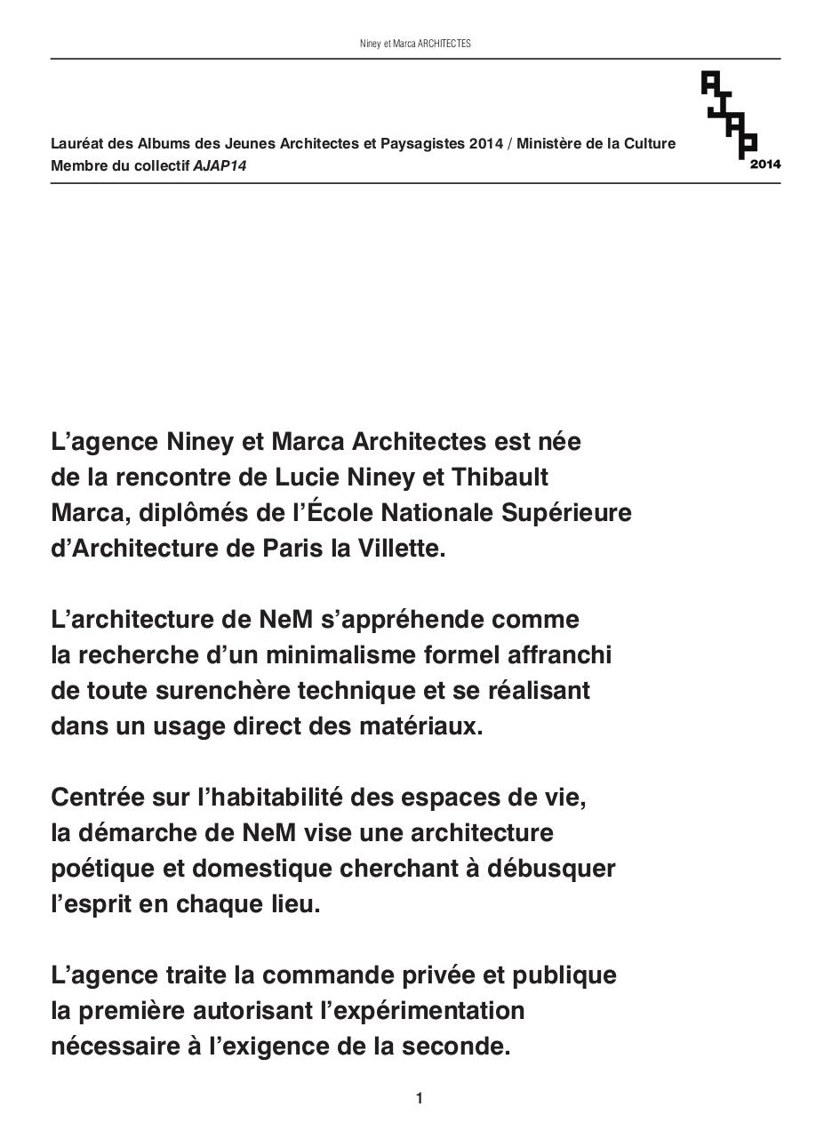 BOOK_NeM ARCHITECTES .pdf - page 1/28