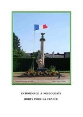 gennes en hommage a nos morts pour la france 1914 1918