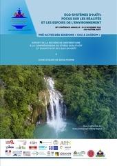 pre actes session eau et zagrom hsa conference 2016