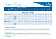 Fichier PDF tarifs ventes privileges costa croisieres 2016 2017