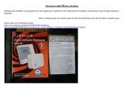 thermostat sans fil pour ultraheat pose et technique