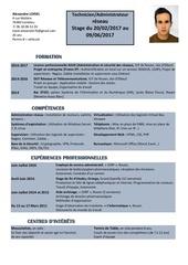 Fichier PDF cv loisel alexandre