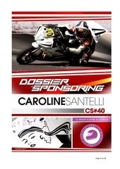 dossier sponsoring caro2017