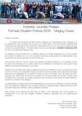 invitation journee presse formula student france 2016
