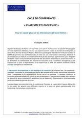 conference charisme et leadership nov dec 2016