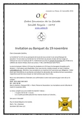 invitation banquet de passation osc