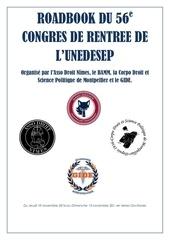 roadbook du 56e congres de rentree de l