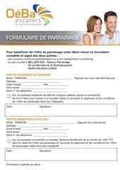 Fichier PDF formulaire de parrainage oeba