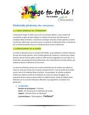 modalites du concours pdf