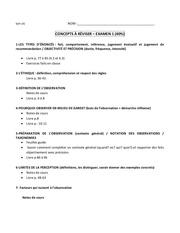 obs concepts a reviser examen 1 1