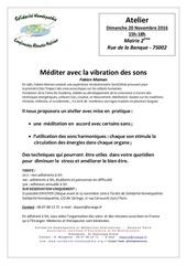 atelier paris novembre 2016 mediteraveclavibrationdessons