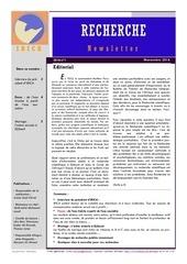 bulletin irica n1