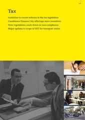 chapitre tax rapport obg 2016 1