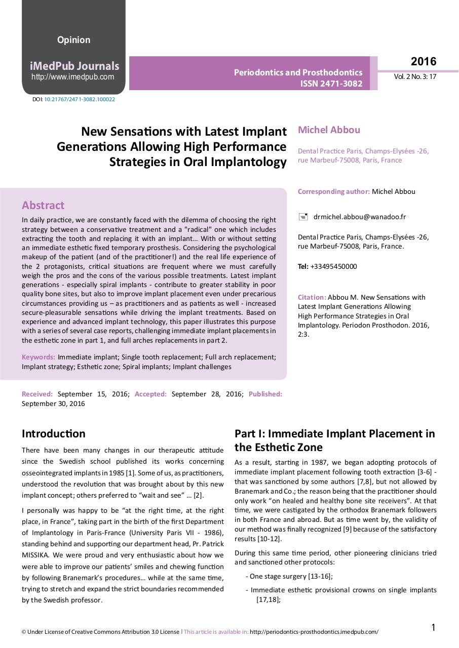 New Sensations with Latest Implant - PDF Dr ABBOU 2016.pdf - page 1/13