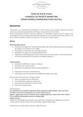 Fichier PDF fiche de poste stage marketing et communication