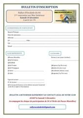formulaire inscription