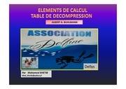 element de calcul table de decompression v11 1 1