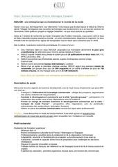 Fichier PDF annonce de stage business dev france