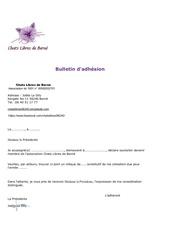 Fichier PDF bulletin d adhesion 1