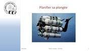 planification d une plongee a l air