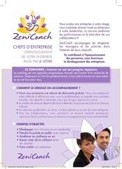 zenicoach flyer entreprise
