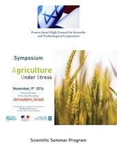 agriculture under stress program f
