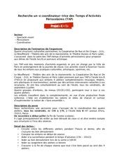 Fichier PDF annonce emploi tap 3