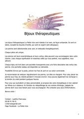 Fichier PDF catalogue bijoux therapeutiques la petite voix