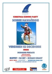 christmas surfing party