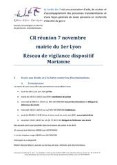 cr reunion 7 novembre mairie du 1er lyon