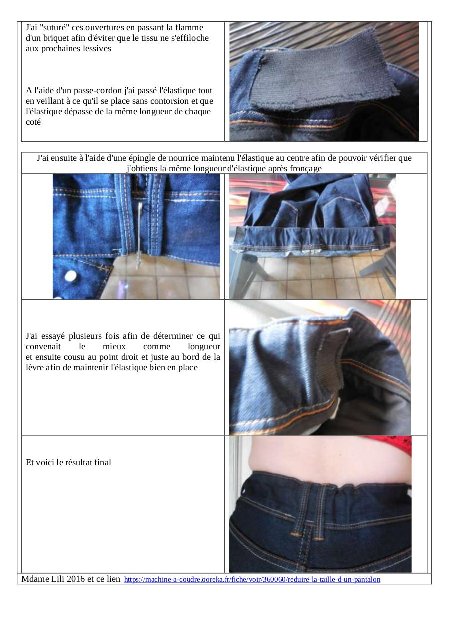 50.23.06 réduire taille ceinture pantalon avec élastique.pdf - page 2 2 8373260cbe7