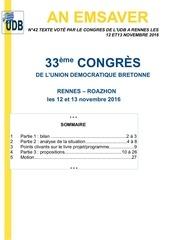texte de congres
