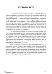 rapport de fin de cycle impact de la qualite hygienique ci